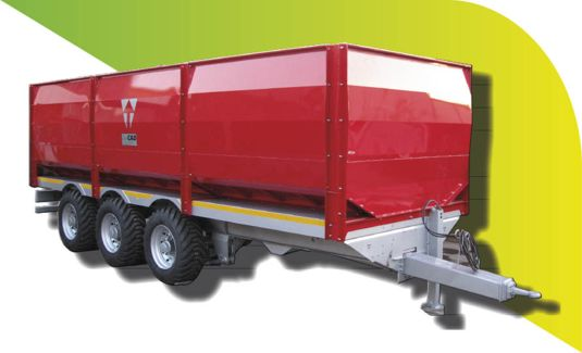 multi-purpose low-speed bottom dump mass trailer